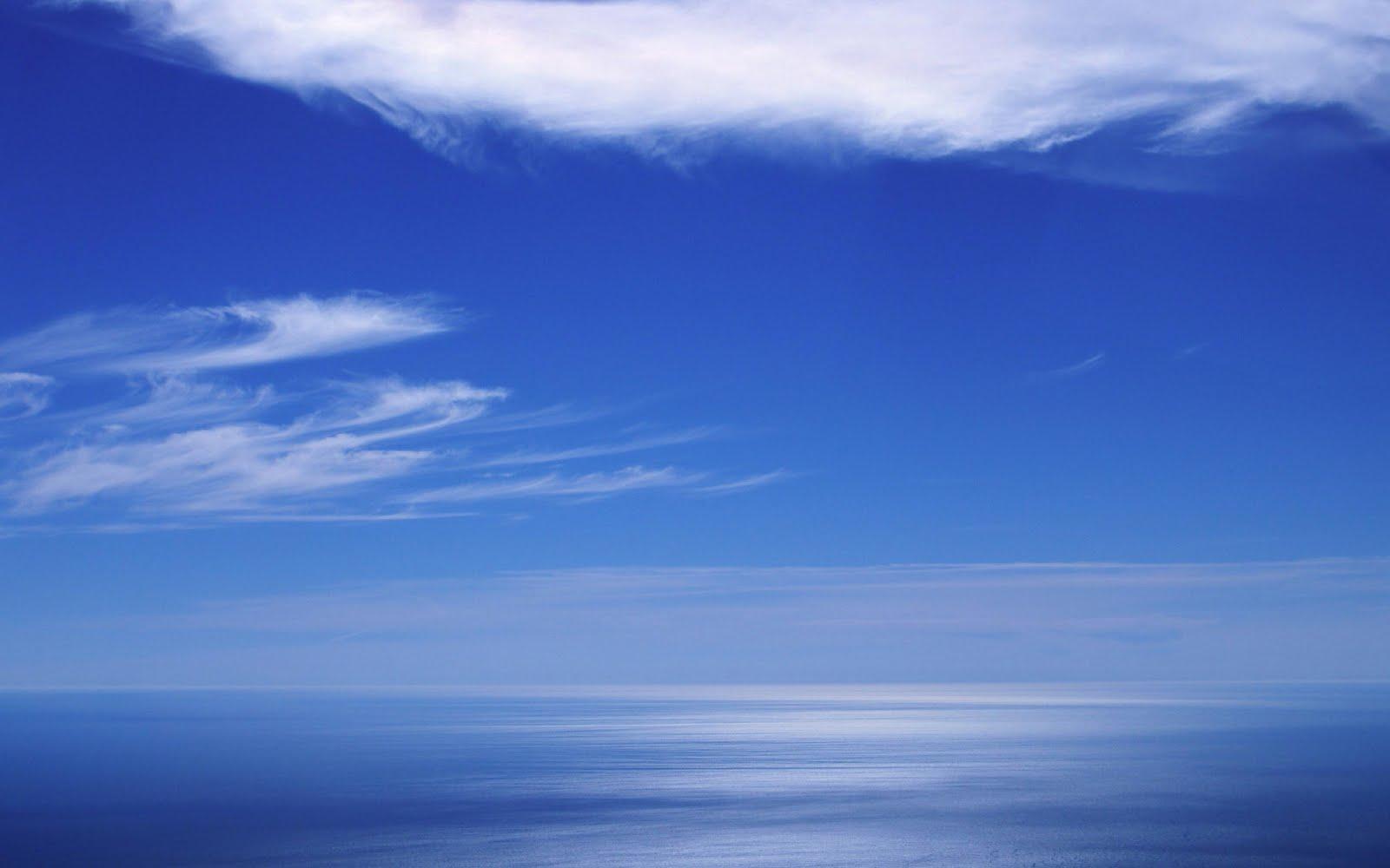 Flat Earth Image Proofs   Ws_Blue_sea_horizon_2560x1600