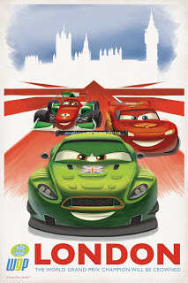 [Artiste] Eric Tan Cars-2-london-retro-poster