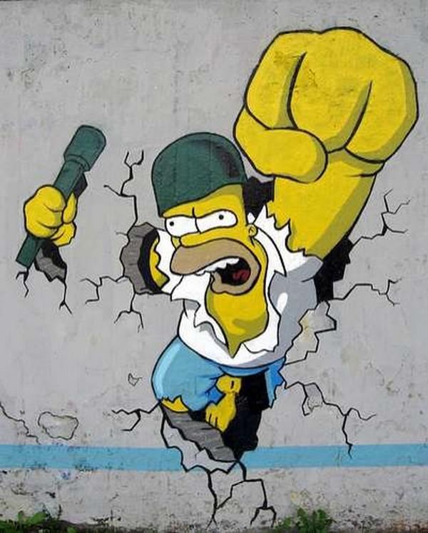 GRAFFITIS ES UN ARTE - Página 2 Graffitis-de-los-simpson_00