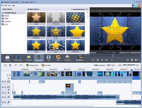 تحميل برنامج مونتاج الفيديو AVS Video Editor - اخر اصدار 2016 متجدد Image1