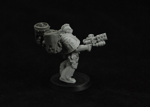 Warhammer 30k Sons of Horus  SOH_Reaver_WIP_15