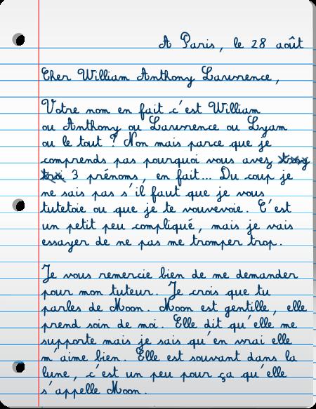 [PS épistolaire] Margotte à Lyam - 9 août 2014, p.4 Lettre1