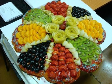 ابدعي في تقديم الفواكه 30
