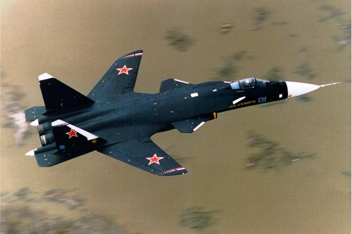 الطائرة التجريبية الرائعة Su 47 Berkut Sukhoi-Su-47-Berkut