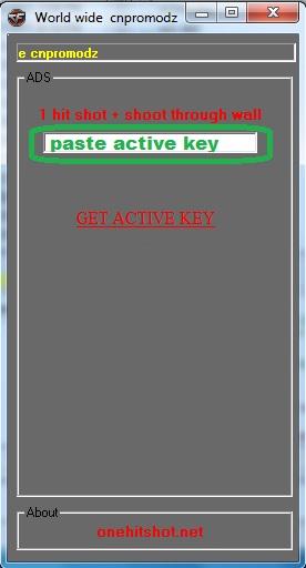 Hack CF 1100  Ngay 5-03-2012 One Hit - Độn Thổ - Wall Đột Kích Full Version  Onehitscrren