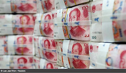 China launches global yuan payment system China-yuan
