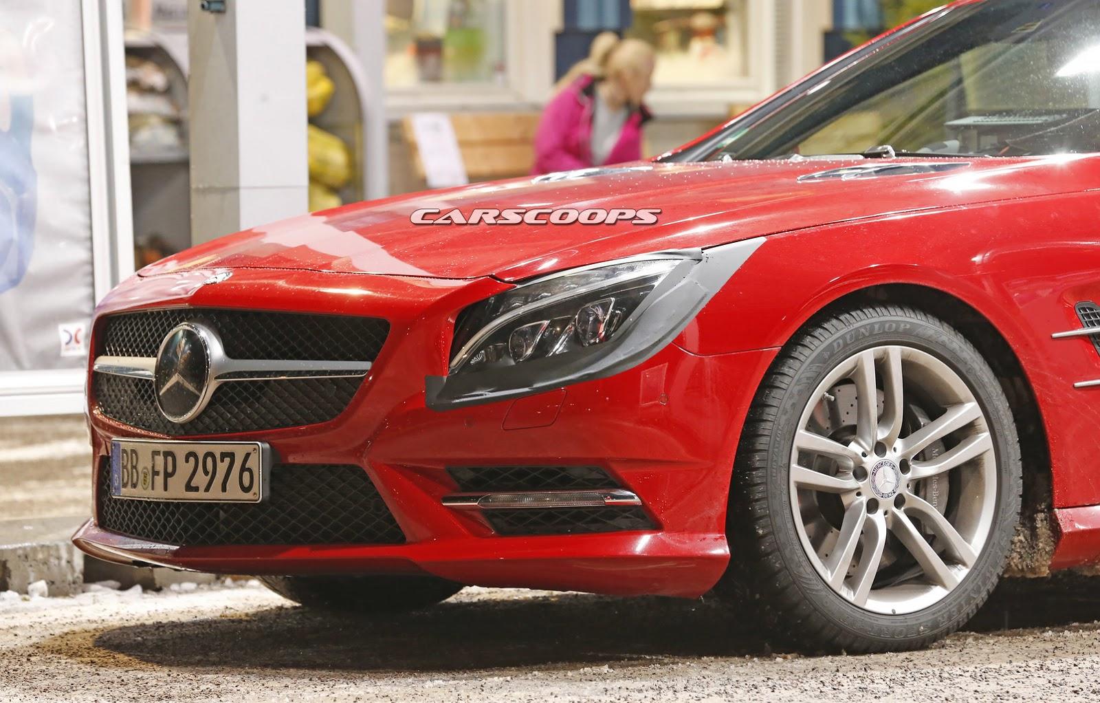 2015 - [Mercedes] SL Restylé [R231] 2017-Mercedes-SL-FL-4
