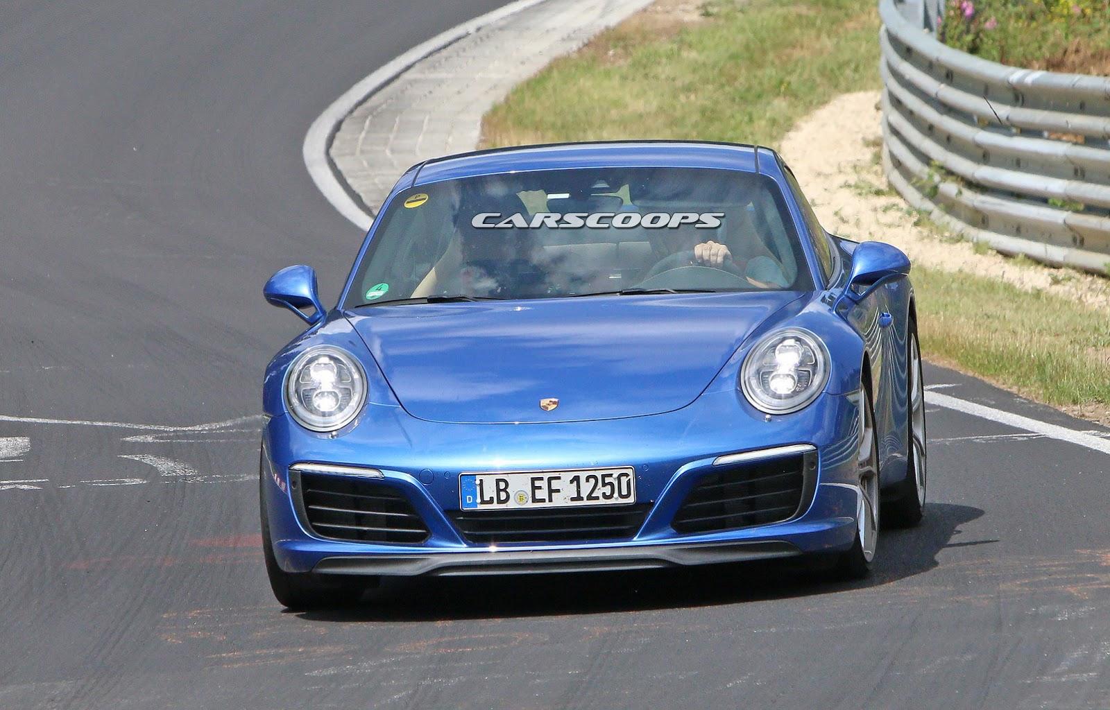2015 - [Porsche] 911 Restylée [991] - Page 6 2017-Porsche-911-Face2