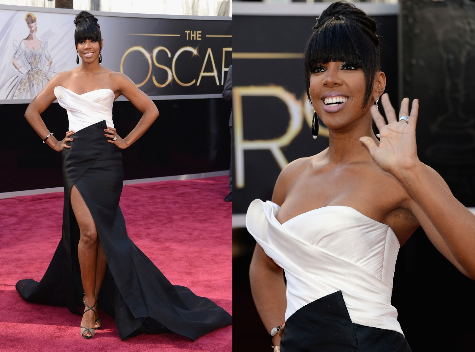 AS Presents: The Search Of The Next Doll  [II] -The NEW DOLL IS--------[Pag.40] - Página 42 Premios-Oscar-2013-Kelly-Rowland