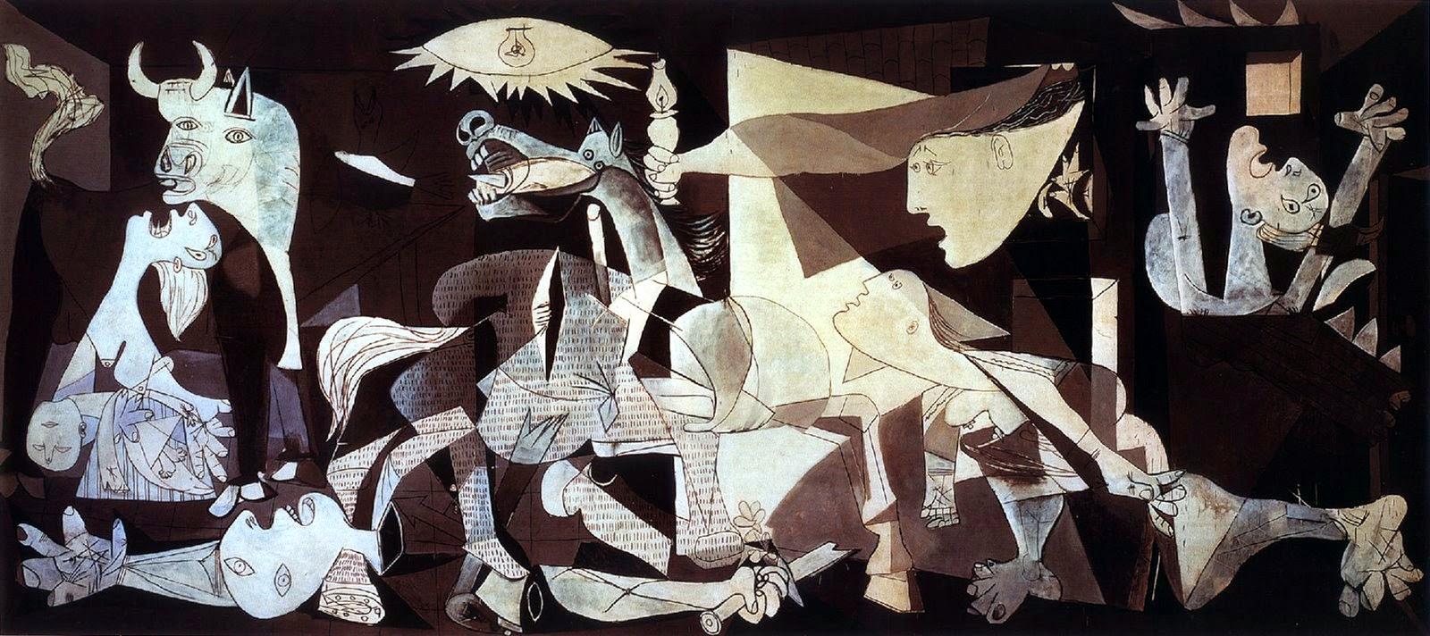 لكل يوم لوحة فنية - صفحة 12 Picasso-guernica2