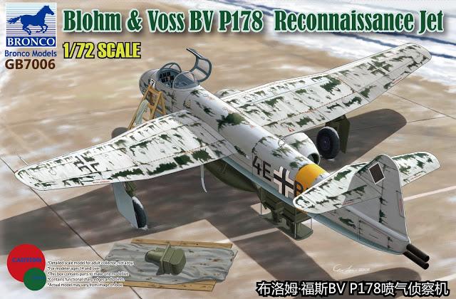 Luftwaffe 46 et autres projets de l'axe à toutes les échelles(Bf 109 G10 erla luft46). - Page 2 GB7006%2BBlohm%2B%26%2BVoss%2BBV%2BP.178%2BReconnaissance%2BJet%2B(1)
