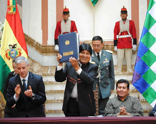 Bolivia enacts Law of Mother Earth and GMO ban Evo