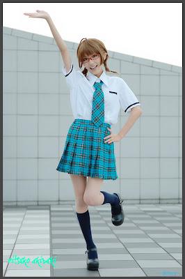 iDOLM@STER Break THE-iDOLM%2540STER-Cosplay-Ritsuko-Akizuki-4-byChamaro