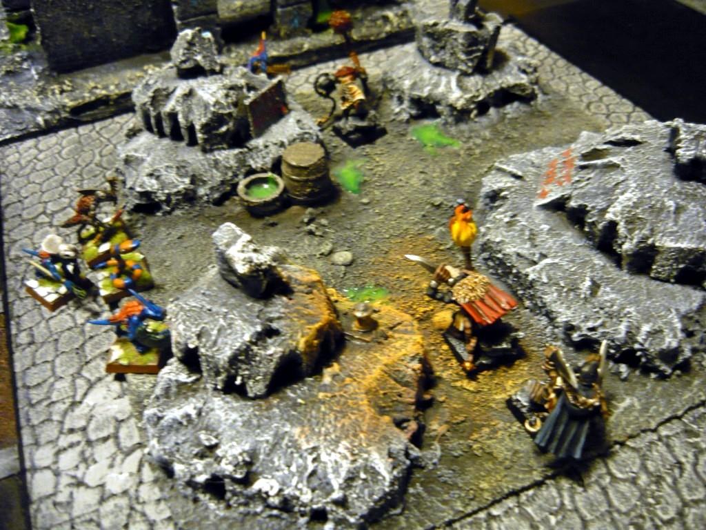 Testing Karak Zorn - first battle in the dungeons P1050536