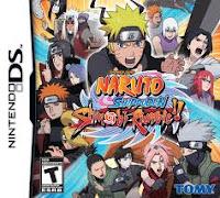 Todos los juegos de Naruto para NDS Ghjbh