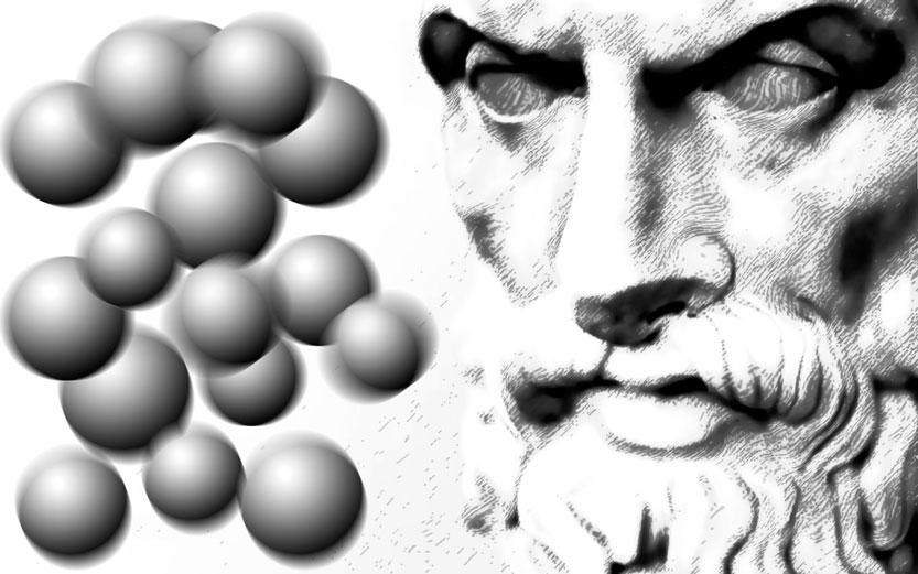 Fisiche teorie e logiche allegorie  Epicurus-atom