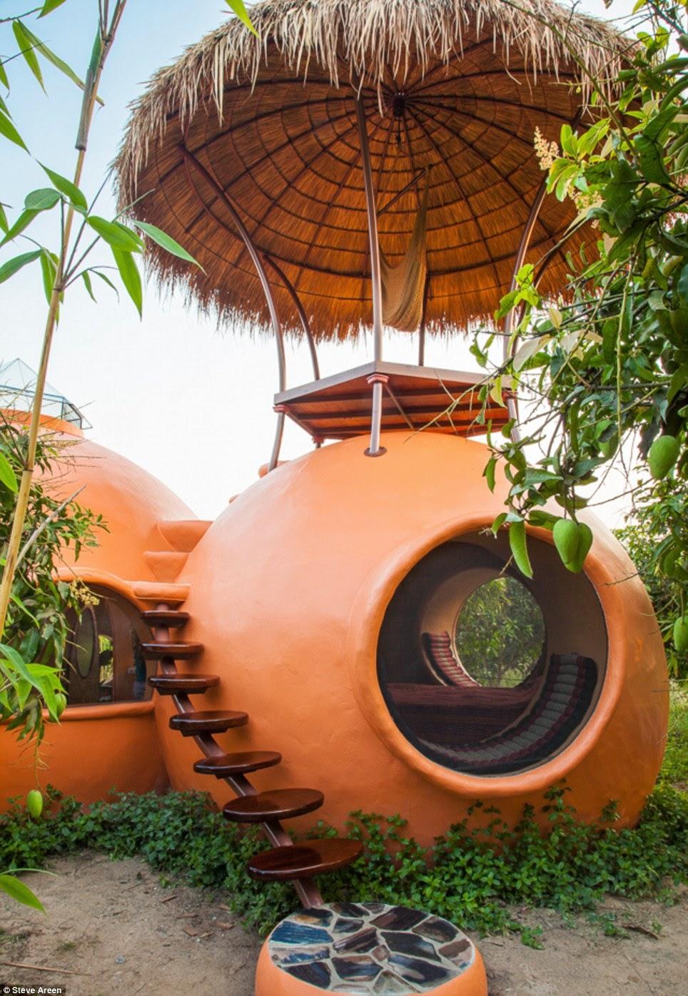 Une mini-maison de rêve en Thaïlande (photos + vidéo)  Dome2