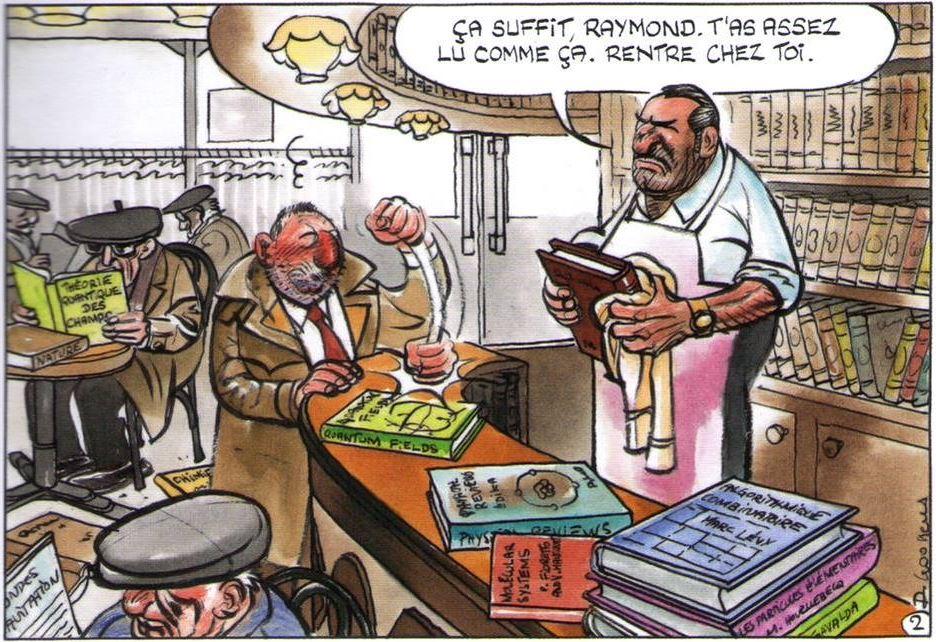 [LE BAR DES FLOODERS] - Page 12 Les_ravages_de_la_lecture_Raymond_la_science_dans_l_excellent_Combats_de_Goossens_chez_Fluide_Glacial