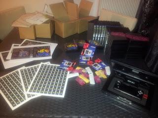 Packs X-card en cours de montage 20130411