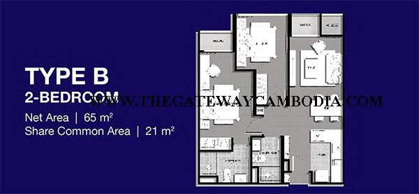 Gateway at Cambodia The-Gateway-%2540-Cambodia-Floor-Plan-2-Bedrooms-Watermark