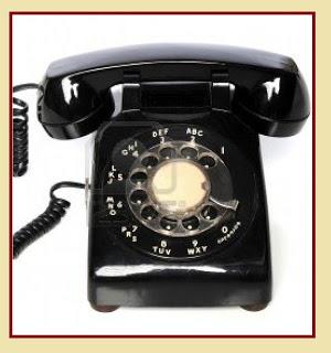 ΤΗΛΕΦΩΝΟ 7903611-vintage-black-telephone-over-a-white-background