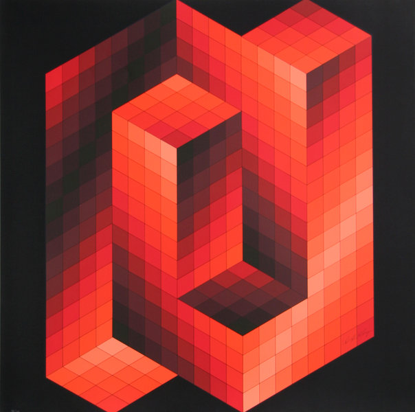 [Reflexion] Les oeuvres qui vous inspirent - Page 4 Victor-vasarely-artwork-large-61262