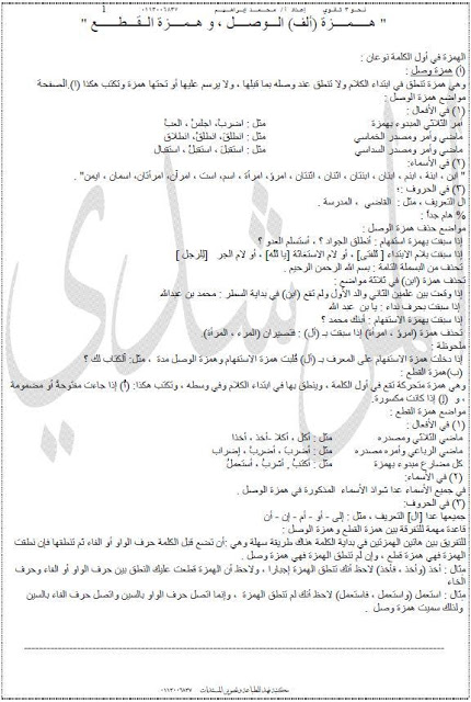 امتحانات وملخصات الثانوى العام مميزه جدا من مصراوى22 130