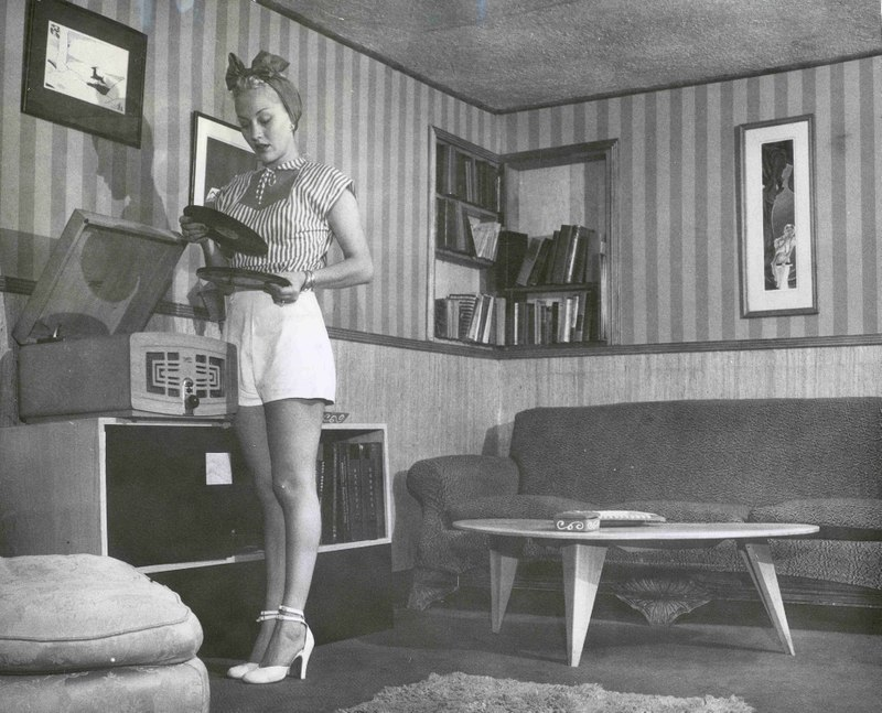 """Efeito WAF """"The Golden Age of Hi-Fi (ladies-of)"""" Rhgirl"""