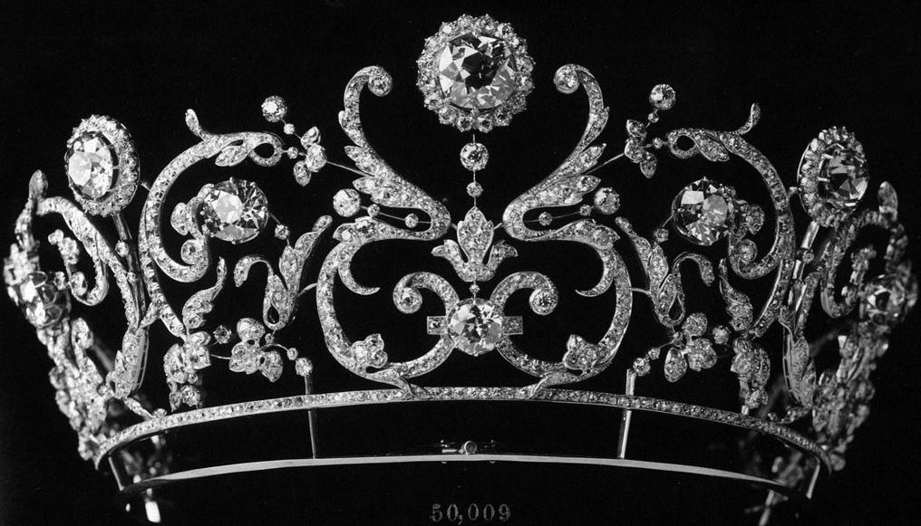 تيجان ملكية  امبراطورية فاخرة Diamond%2BTiara%2B%25281907%2529%2Bby%2BBoucheron%2Bfor%2BPrincess%2BAbamalek%2Bof%2BGeorgia%2B4-3