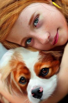 Rostros femeninos Retratos-de-ni%C3%B1as-pintadas-al-oleo