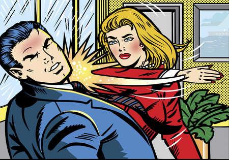 [Fans-Vidéos] Nos Grands Débats ! - Page 6 Woman-slapping-man