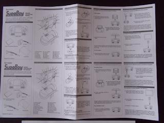 [SNES] Comparatif - Reviews des consoles portables SNES Supaboy_notice