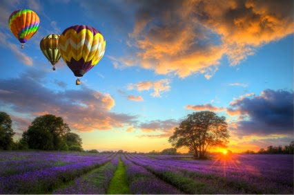 Earth is the Center of the Universe! Balloon-lavender-landscape-large