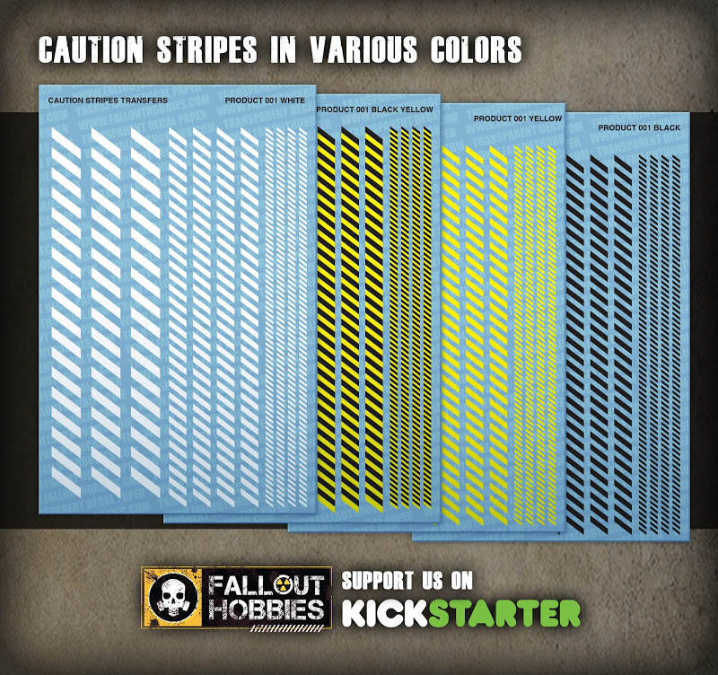 Dark Eldar Tribal Hull Decals From Fallout Hobbies Product%2BShot-Caution%2BStripes