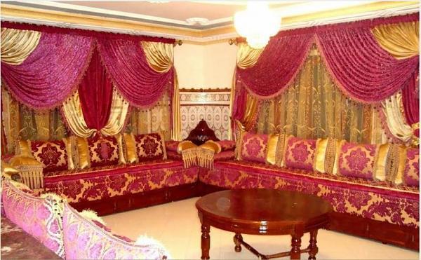 اجمل الصالونات المغربية الراقية  4