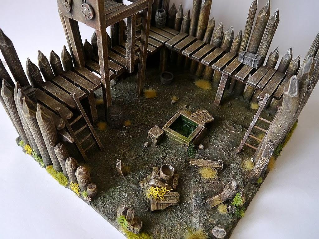Dwalthrim's smithy - my table and terrain Zrujnowana_straznica_11