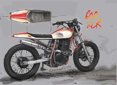 600 XR flat-track . suite et fin - Page 4 XLR