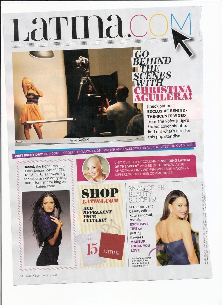 [Fotos+Video] Christina Aguilera en la portada de la revista Latina 2012 - Página 2 7