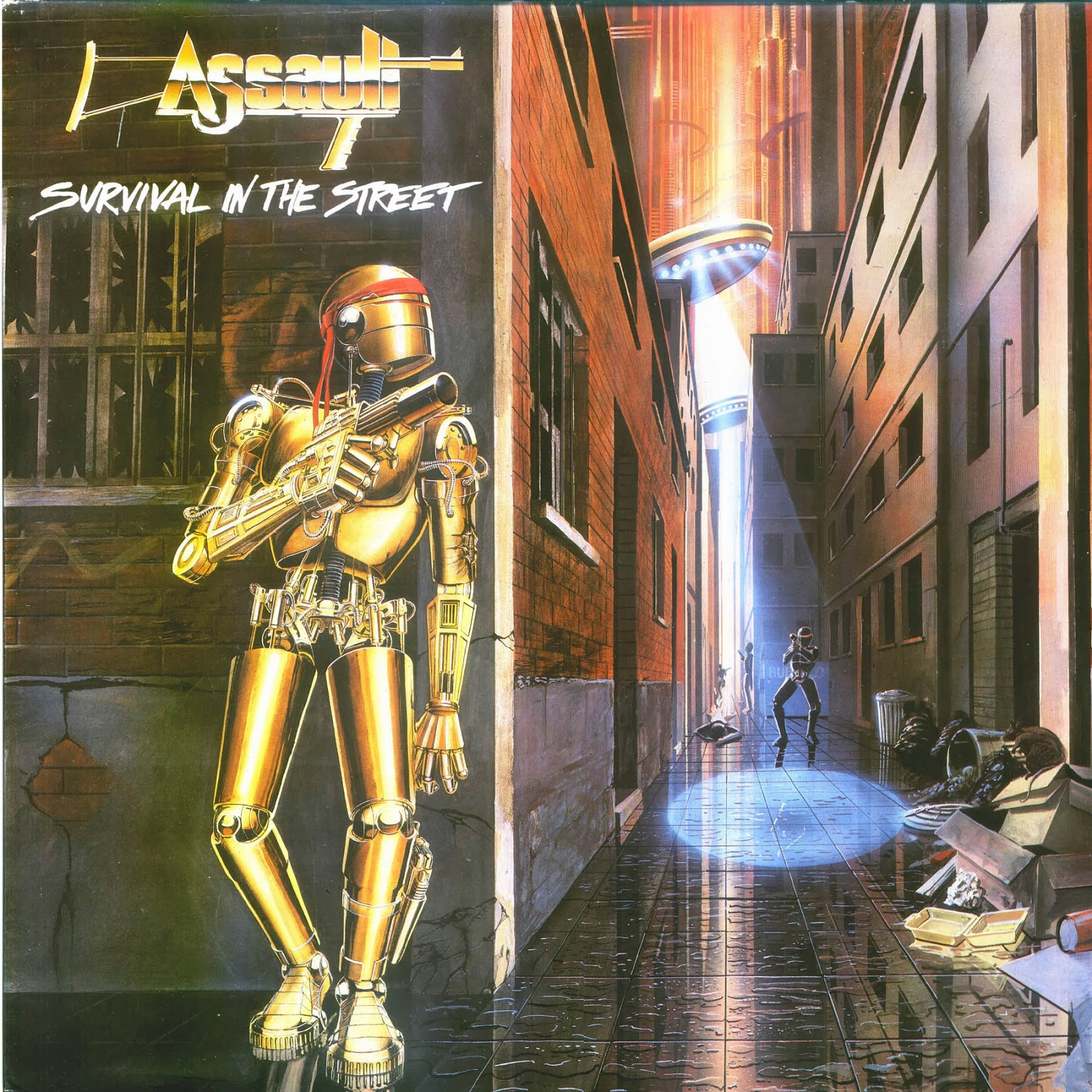 ASSAULT Survival In The Street (1987) Speed/Heavy Front