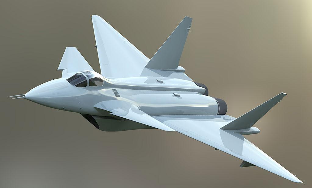 المقاتلة الصينية J-20 Mighty Dragon المولود غير الشرعي Mikoyan%2B1.42_1