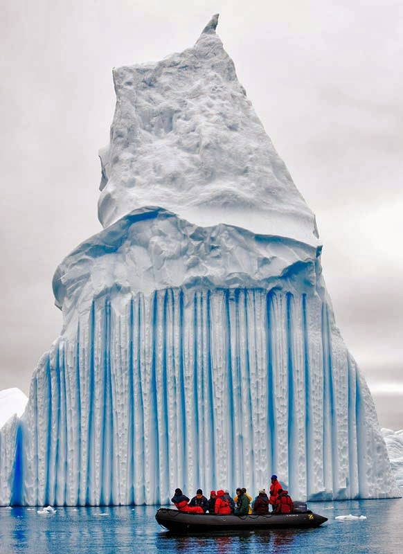LAKE MICHIGAN ICEBERGS  3