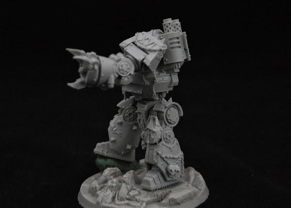 Warhammer 30k Sons of Horus  SOH_Contemptor_WIP_07