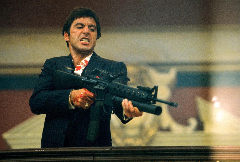 Les images célèbres du cinéma ! Scarface-4