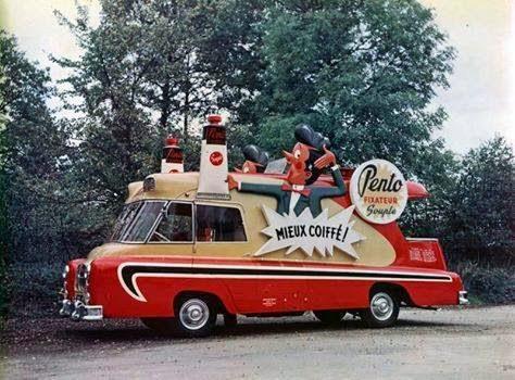 Les véhicules de la Caravane du Tour de France 1950's & 1960's - Page 3 10406499_10202010710891704_8897081541584288316_n