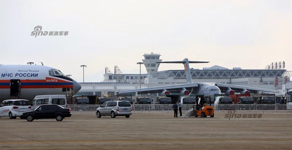 Zhuhai 2014 (11 au 16 Novembre) -  Airshow China 2014      PLAAF%2Btransport%2Baircraft%2BY-20%2Bcloseup%2B4
