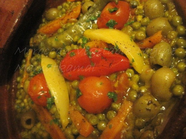 Moroccan Vegetable Tagine / Tajine marocain végétarien Img_5210