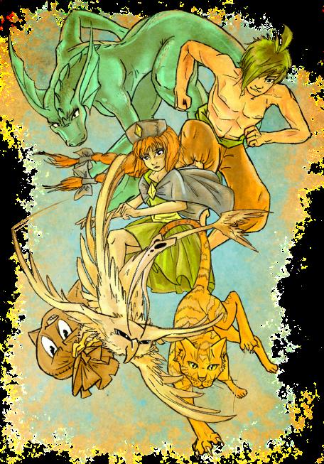 [RPG Maker XP] Ahura Personajes-base