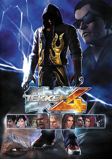 Tekken 4 for PC Mediafire Links Tekken_4_poster