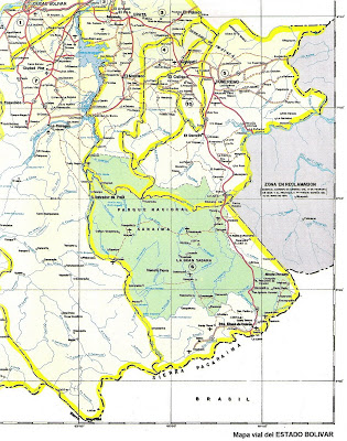 Union de de curacao, bonaire, aruba/ trinidad y tobago a Venezuela - Página 4 Mapa%2Bdel%2BEstado%2BBolivar