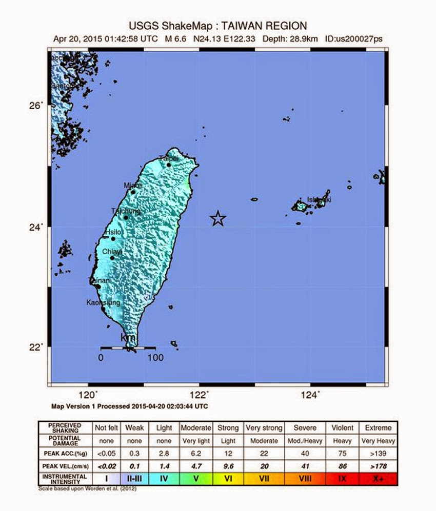 6.8 quake strikes off Taiwan, tsunami alert issued for southwestern Japan Taiwan_quake02